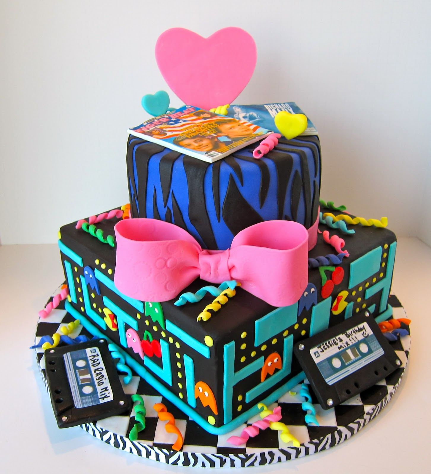 cakegirl on the run totally awesome 80s cake
