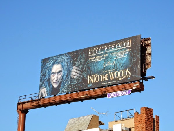 Into the Woods Best Picture billboard