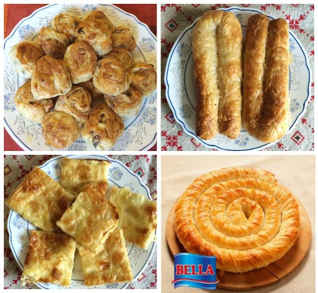 Tipos de banitsa en Bulgaria