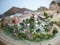Photo of Columbia South Carolina Model Railroad Display