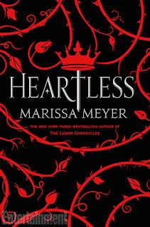 """Portada revelada """"Heartless"""" de Marissa Meyer y primer vistazo a la historia."""