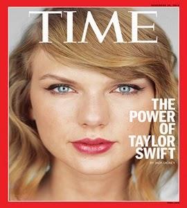 """O poder de Taylor Swift"": cantora é capa da revista americana TIME"