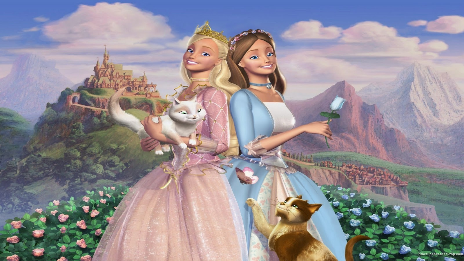 Free barbie movie wallpapers download barbie as the princess and barbie as the princess and the pauper 2004 wallpapers free download voltagebd Image collections