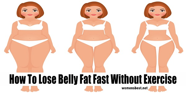 How To Lose Belly Fat Fast Without Exercise Best Health Digest