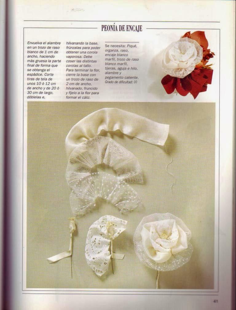 Curso flores de tela paso a paso cursos y tutoriales - Flores de telas hechas a mano ...