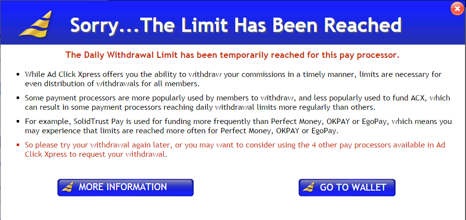 Rbc 401k online withdrawal limit exceeded