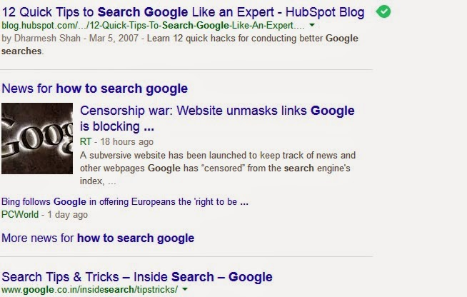 How to Show Video Thumbnails in Google Search Results : eAskme
