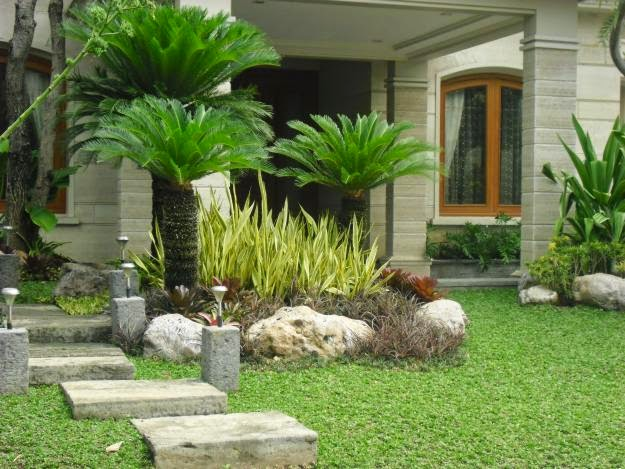 Jasa desain taman rumah | taman rumput | taman kering | taman vertikal | jasa tanam rumput
