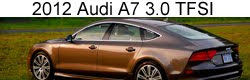 Road Test: 2012 Audi A7 3.0 TFSI