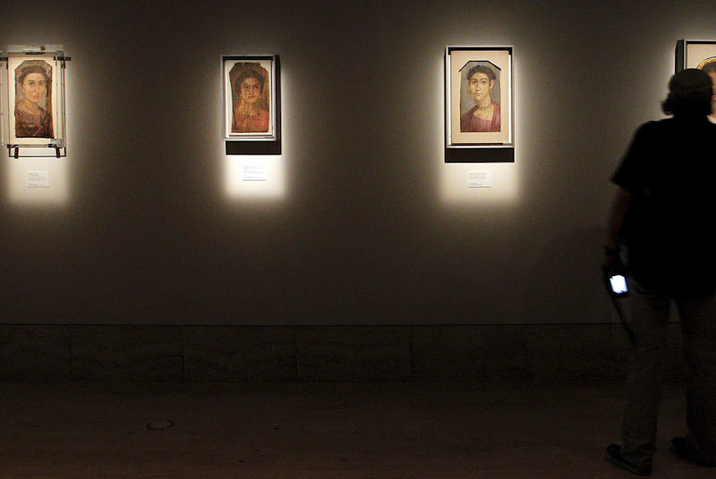 Unpublished Fayum Portraits featured at the National Archaeology Museum in Madrid