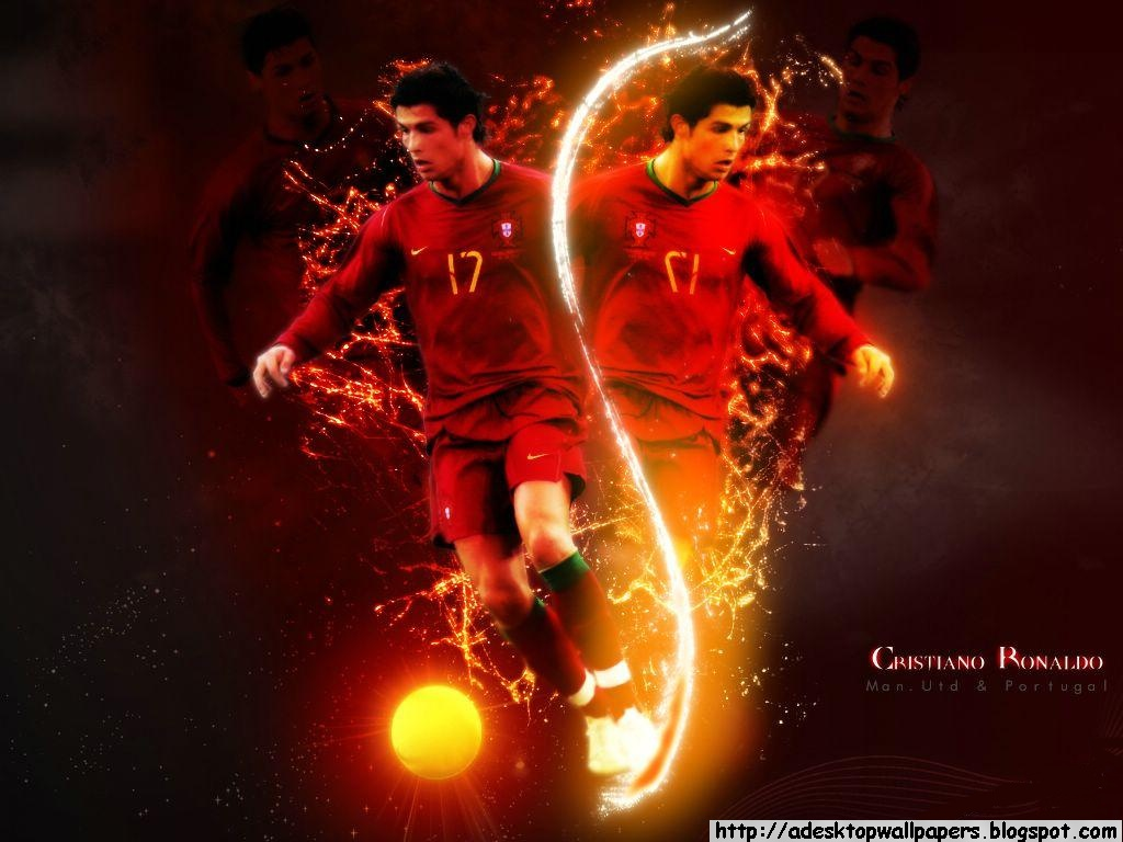cristiano ronaldo football player desktop wallpapers