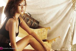 5 Lee Ji Min in Black-very cute asian girl-girlcute4u.blogspot.com