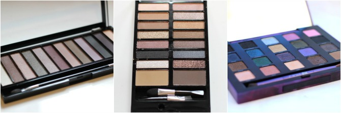 Eye shadow palettes of 2014