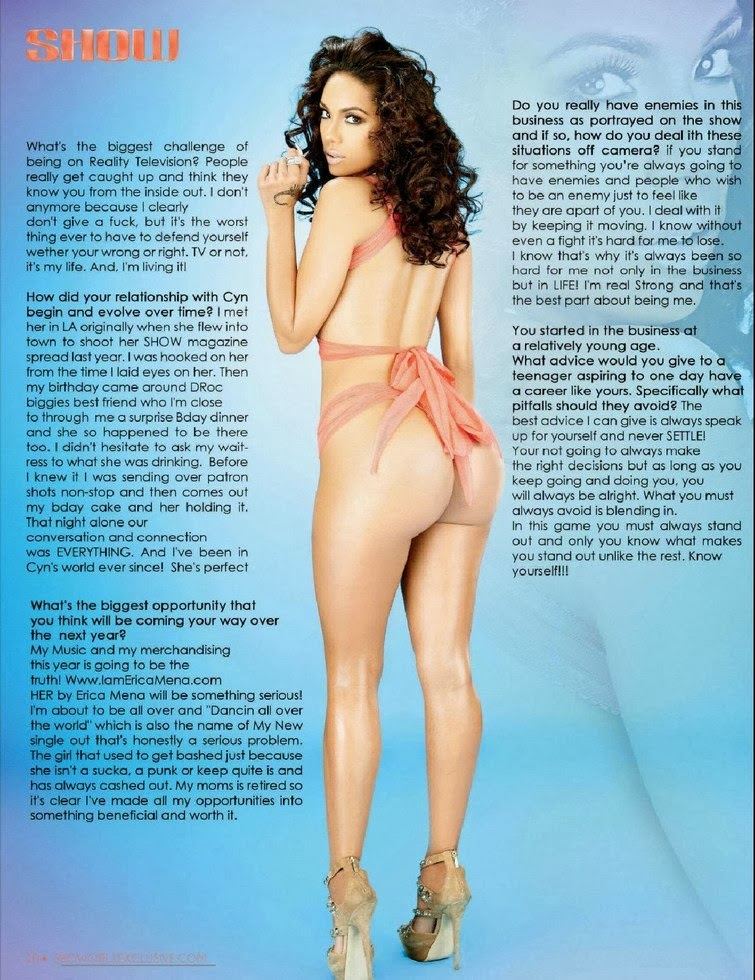 Erica Mena & Cyn Santana HQ Pictures Show Magazine Photoshoot February/March 2014