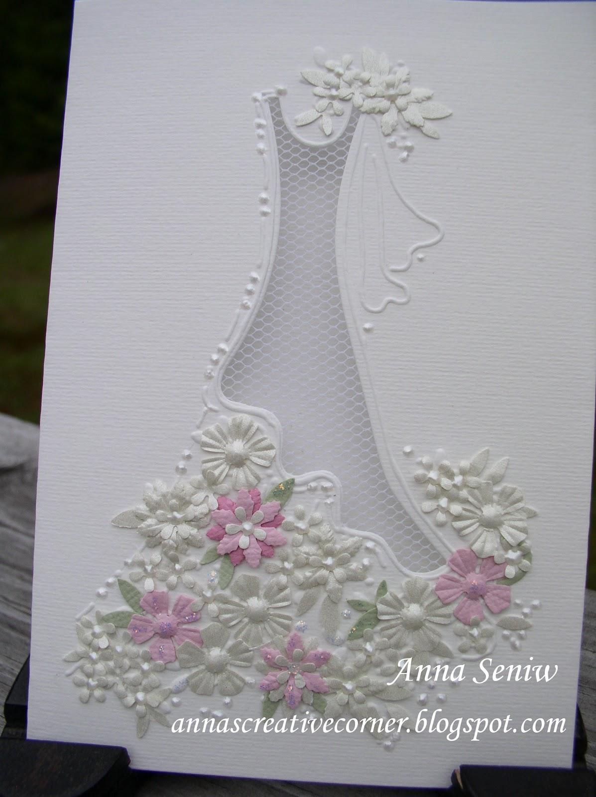 Corner designs for wedding cards