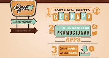 gana dinero en las redes sociales con Genapp