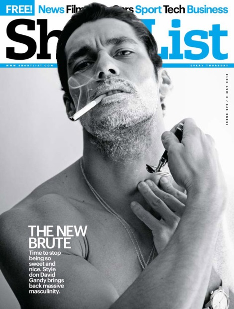 David Gandy Shortlist Magazine Cover