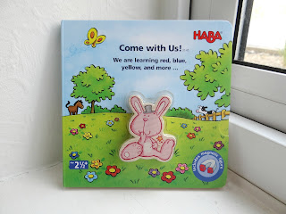 HABA board book, HABA toddler book, HABA Come with Us magnetic book
