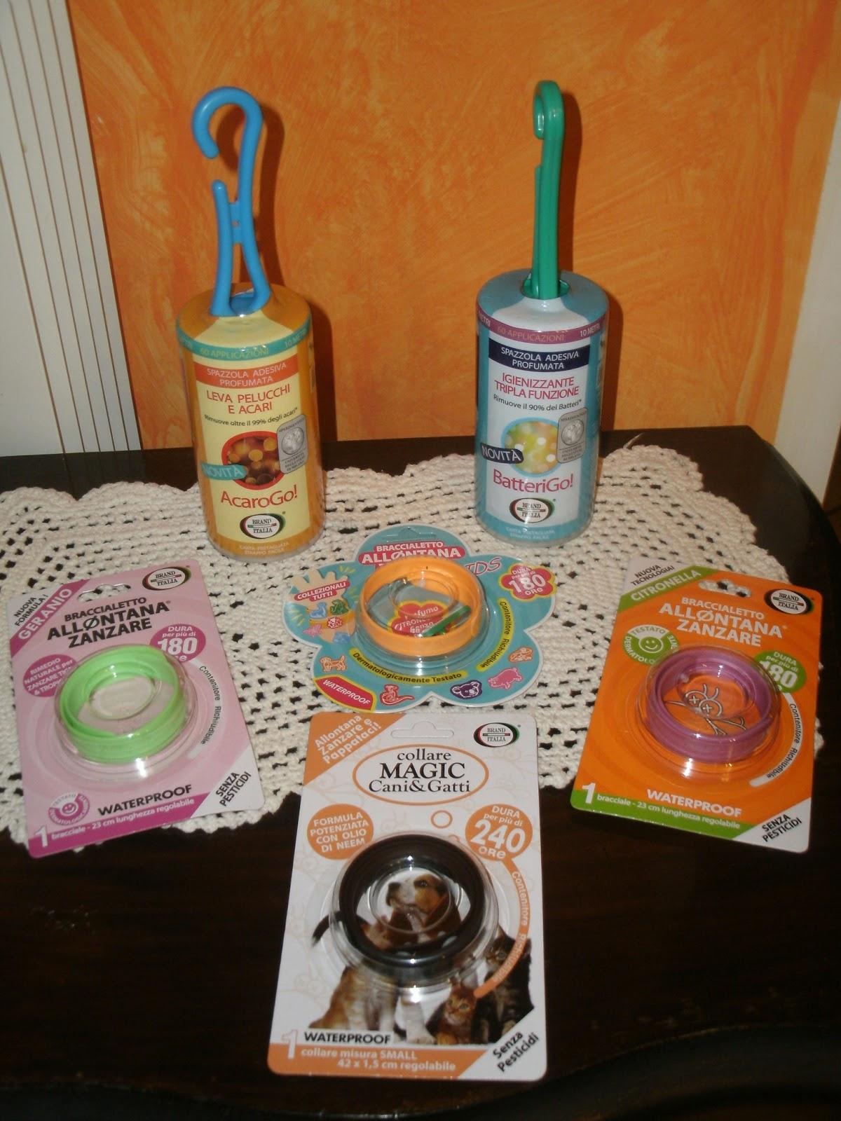 Questi sono i prodotti che mi sono stati gentilmente inviati dall\u0027azienda!