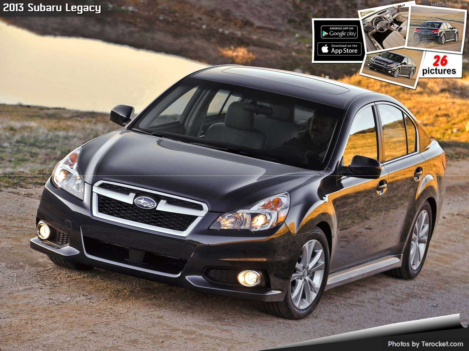 Hình ảnh xe ô tô Subaru Legacy 2013 & nội ngoại thất