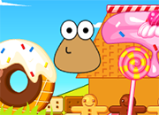 Pou Cookie House Decoration