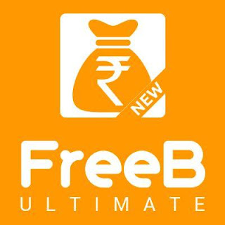 FreeB Ultimate App Earn Rs. 50 Per Refer (Redeem as Recharge or Transfer to Bank)
