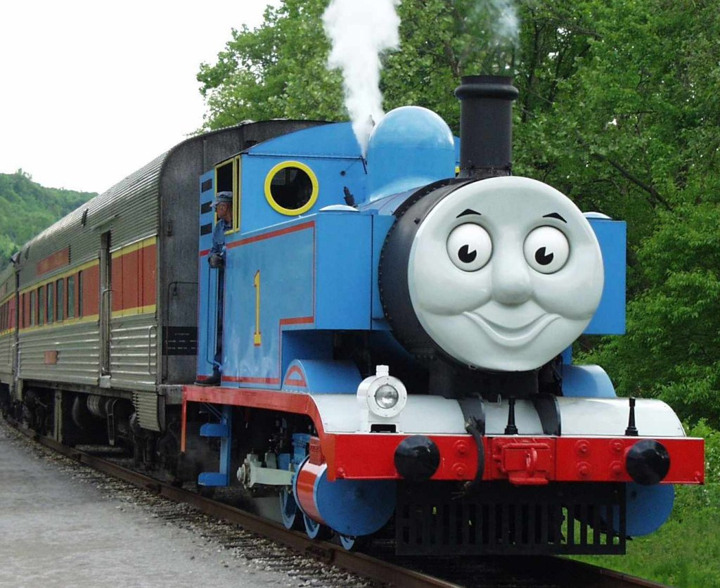 Thomas the tank engine theme dance