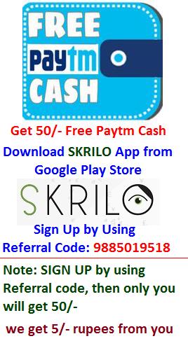 Get Free Paytm Cash