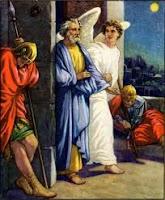 Petrus dilepaskan dari penjara Herodes