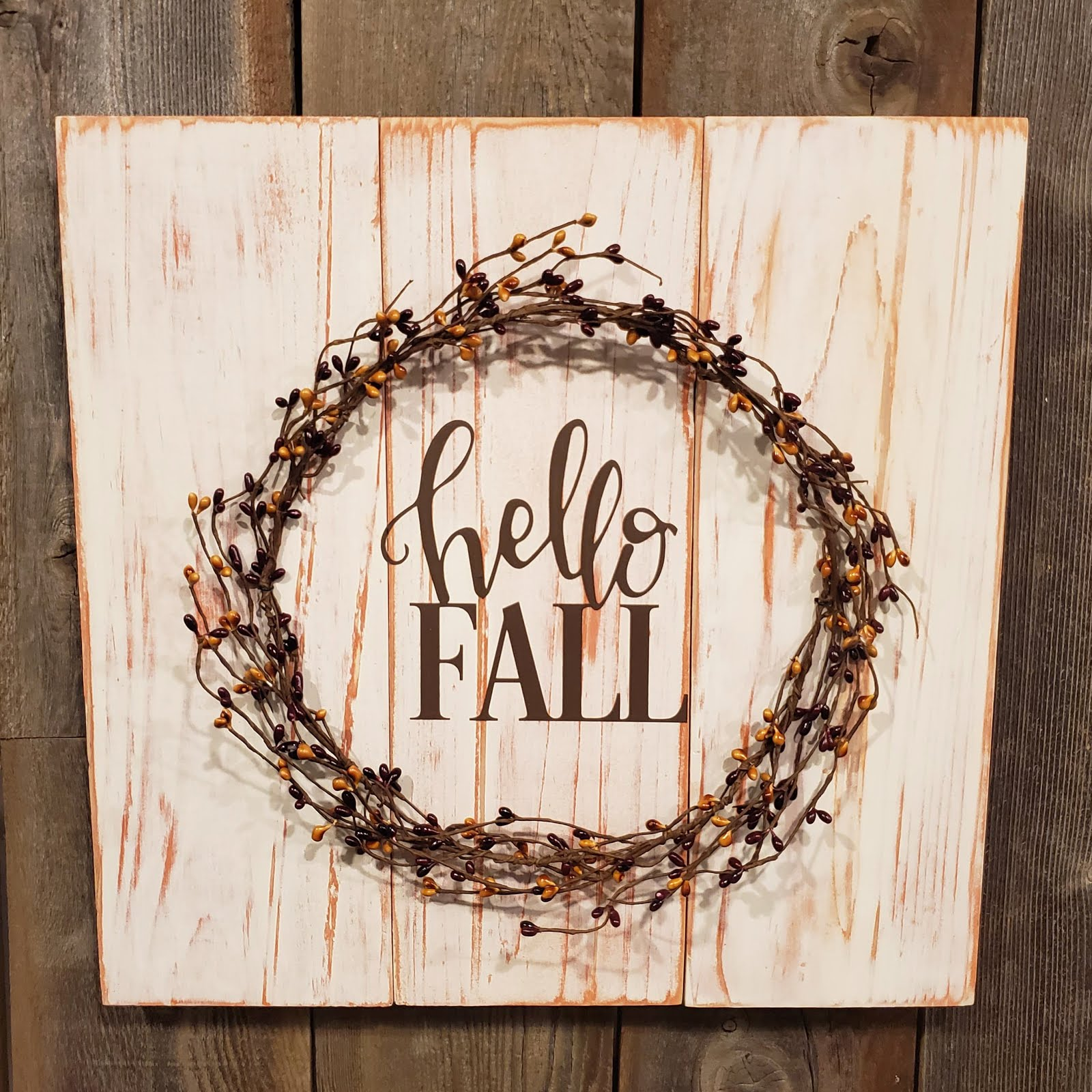 16X16 PALLET WREATH SIGN WORKSHOP