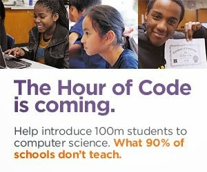 Hour of Code is Coming