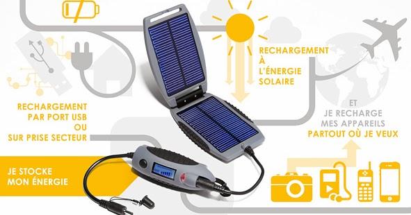 bruno poulenard chargeur portatif solaire power monkey explorer. Black Bedroom Furniture Sets. Home Design Ideas