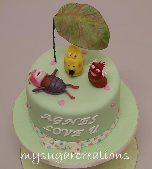 Larva Cartoon Cake Design : My Sugar Creations (001943746-M): Larva Cartoon Cake