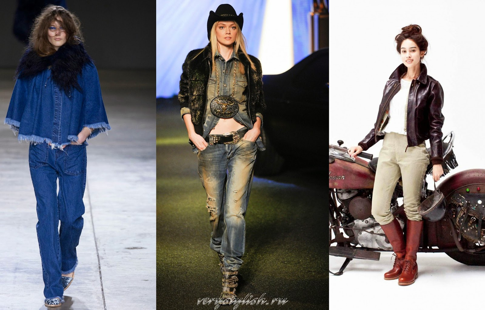 Spring Summer 2015 Women's Jeans Denim Color Trends