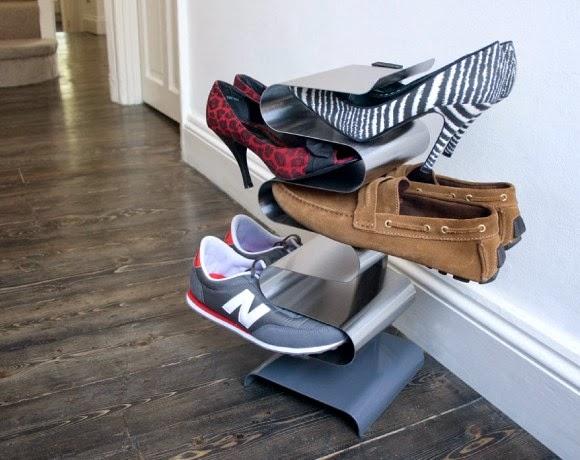 Let 39 s stay creative shoe storage ideas - Creative shoe rack designs ...