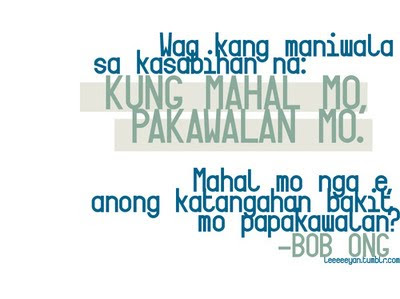 Bob Ong Quotes for Valentines' Day