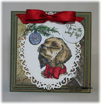 Stamps - North Coast Creations Santa Paws, ODBD Christmas Paper Collection 2013