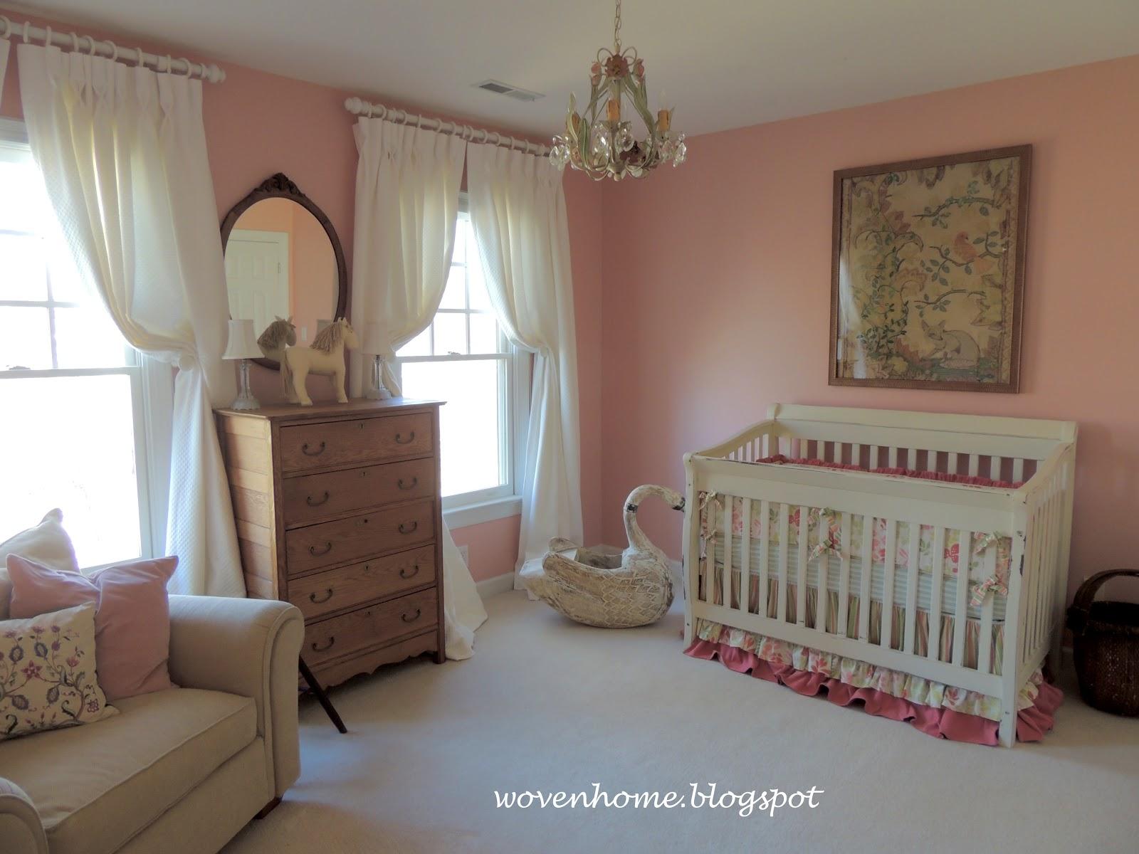 Woven Home My Little Girl 39 S Nursery