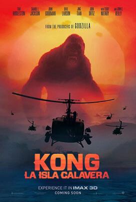 Kong: La Isla Calavera Poster