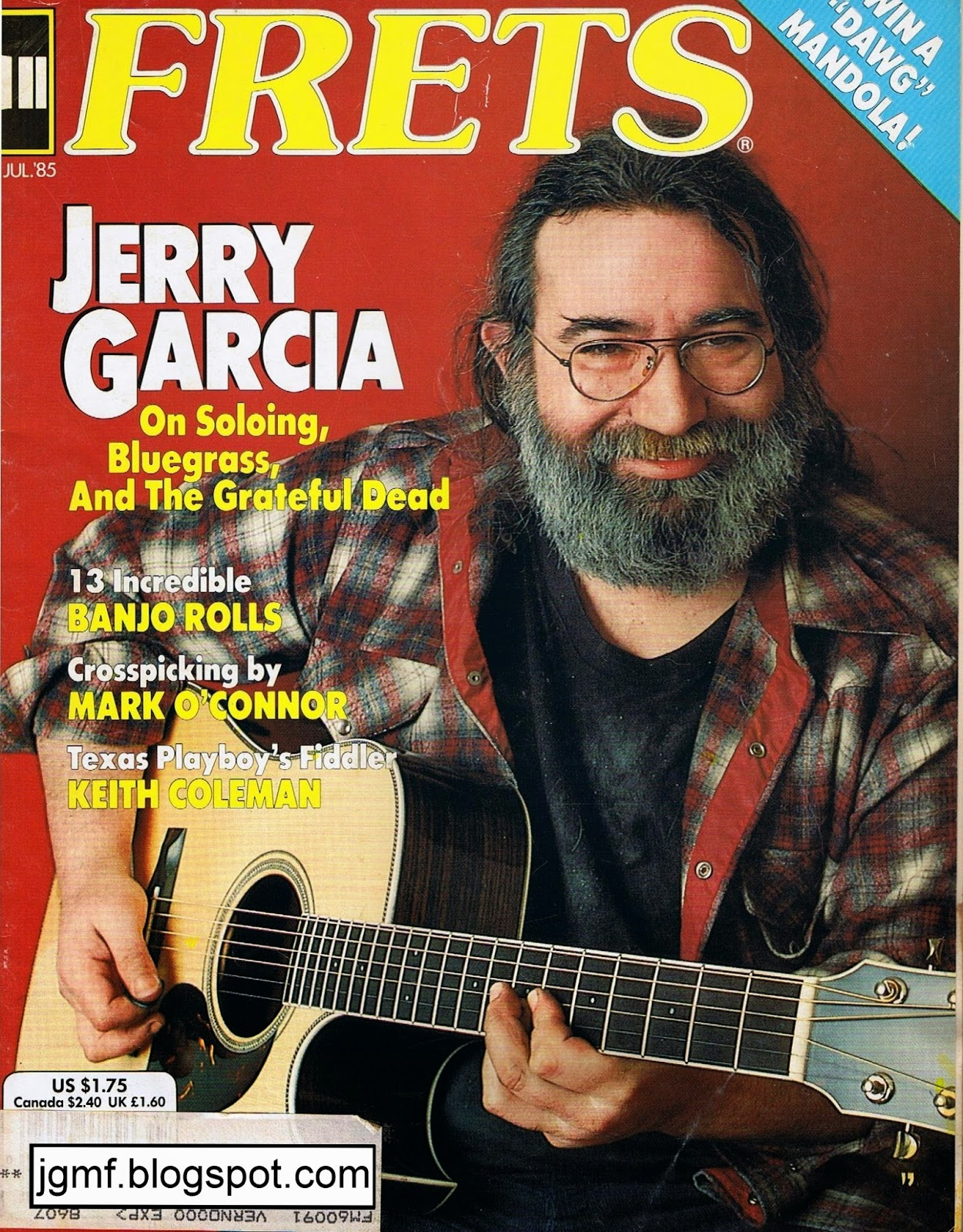 Jerry Garcia\'s Middle Finger: January 18, 1985: Strung Out and Busted