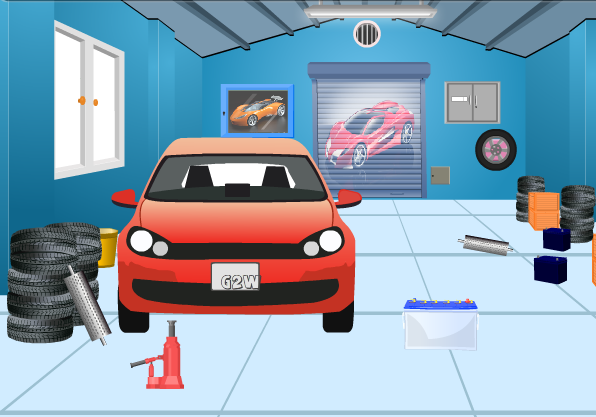 G2w Garage Escape Walkthrough