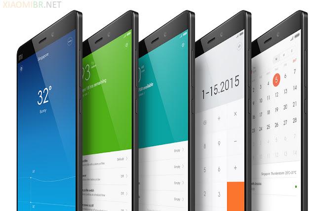 Android MIUI 6 - Mi Note