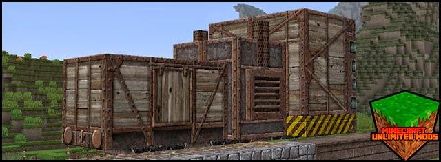 RailCraft Mod Minecraft texture pack
