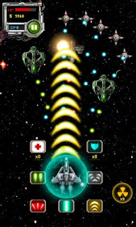 Screenshots of the Raiden Fighter 2 for Android tablet, phone.