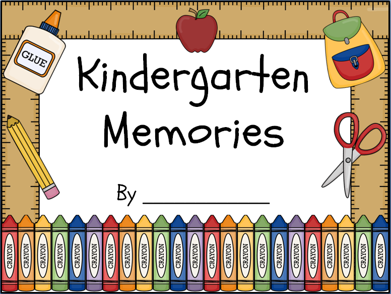 Kindergarten Memory Book Cover Printable : Peace love and learning giveaway earth day freebie