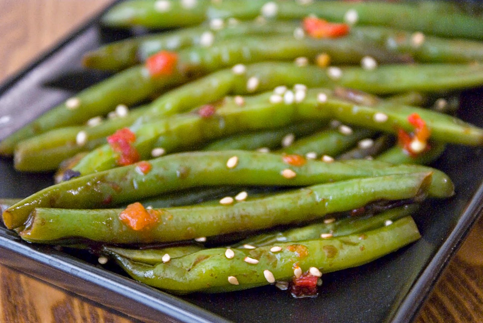 The Hungry Lovers: Spicy Szechuan Green Beans