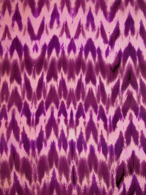Deborah Younglao shibori silk scarf detail