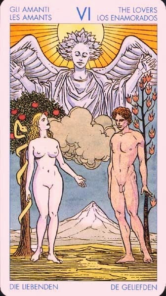Los Enamorados- Tarot Universal