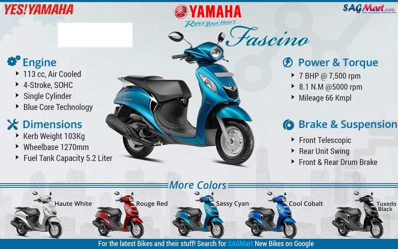 Yamaha fazer white blue images amp pictures becuo - Posted By Aagashyamaha At 1 17 Am No Comments