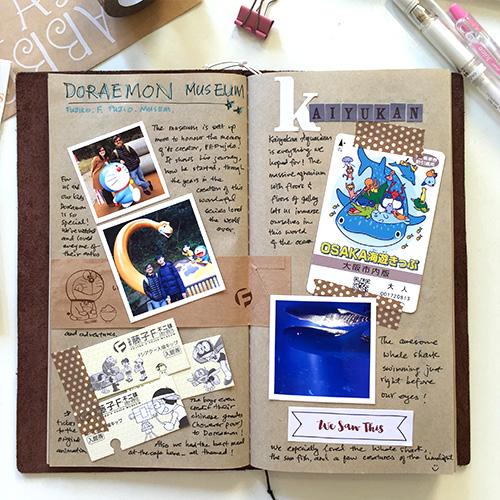 Simply Yin My Midori Travelers Notebook Japan Travel Journal